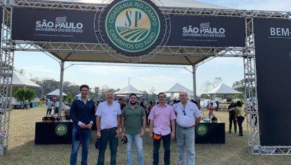Chefe do Meio Ambiente de Rafard participa de Dia de Campo com o Governador João Dória