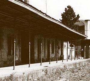 Estação de Rafard em 1980