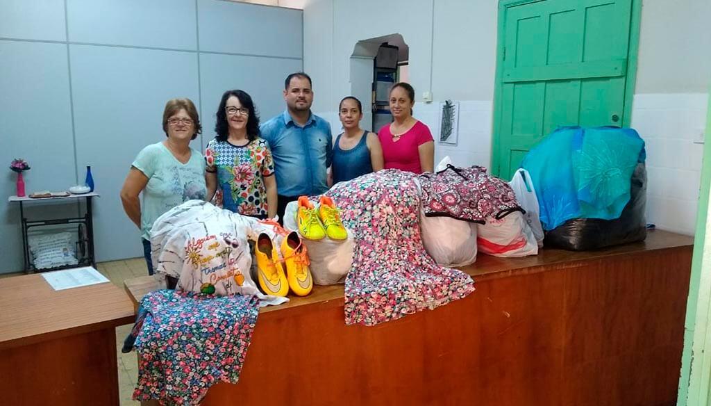 Rodovias do Tietê faz doação de 400 peças de roupas para o Fundo Social de Rafard