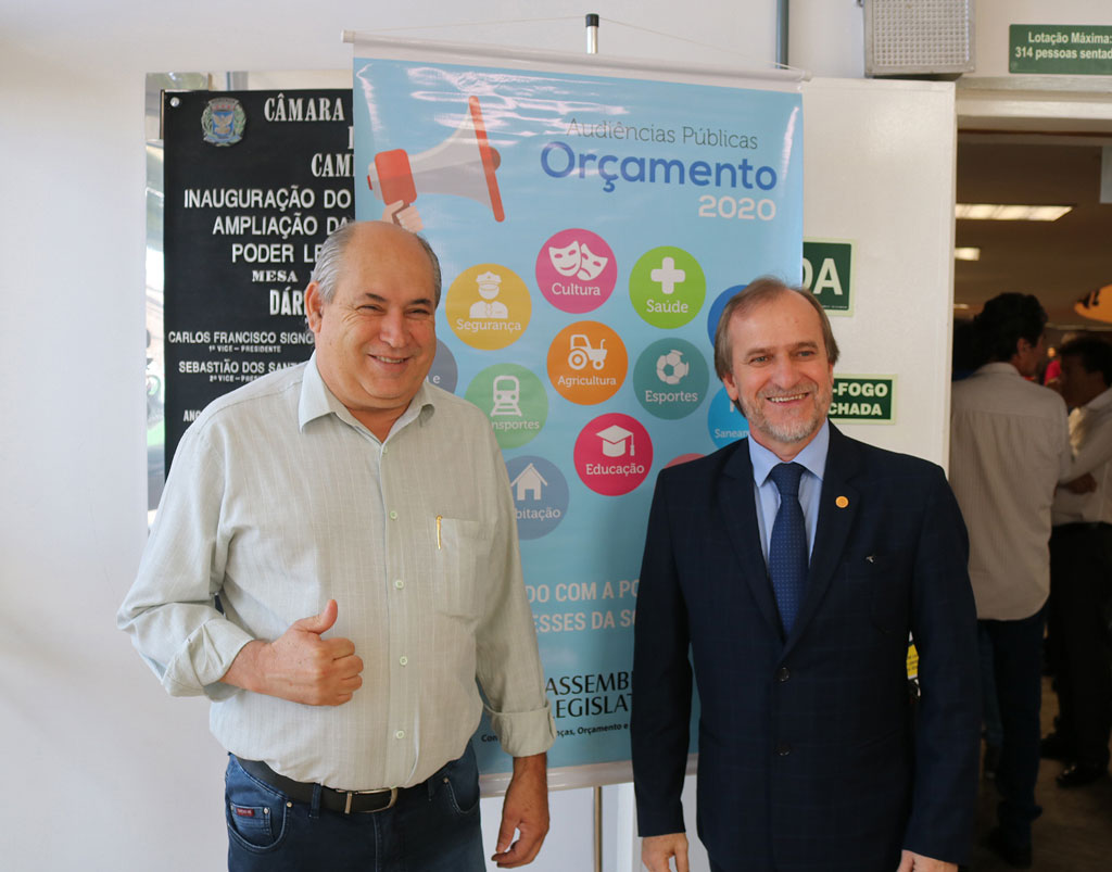 Prefeito Carlão participa de evento com deputados Dirceu Dalben e Valéria Bolsonaro