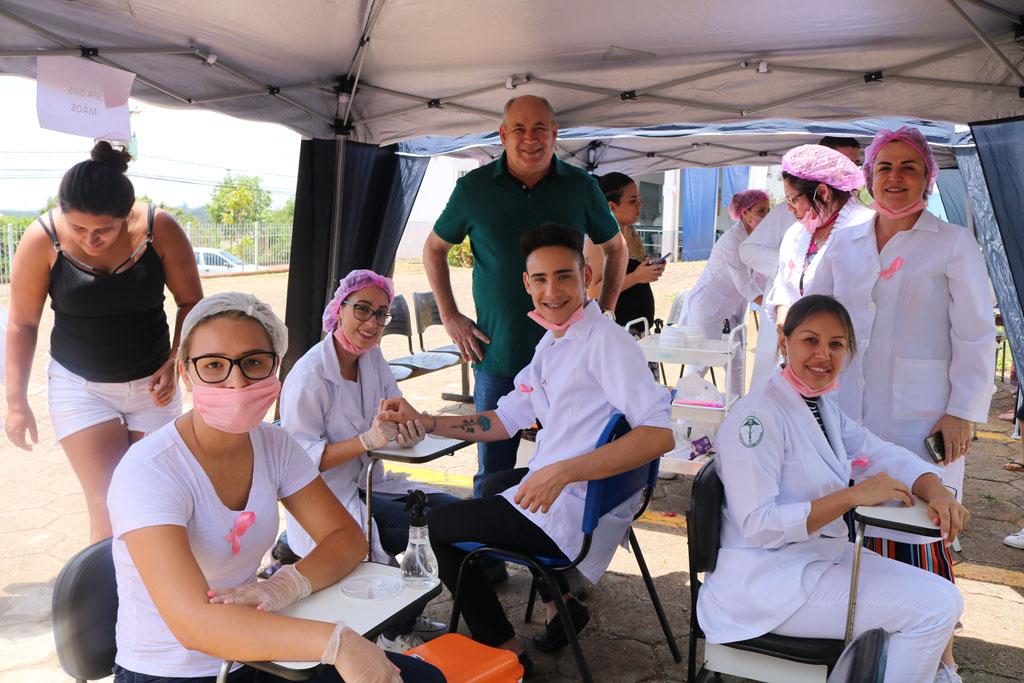Sábado da Saúde: Rafard tem atividades do Outubro Rosa e vacinação de sarampo