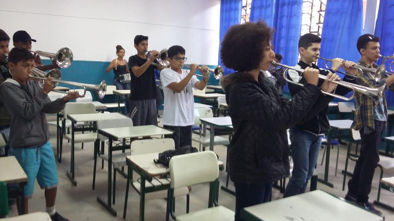 Rafard retoma projeto Fanfarra na Escola