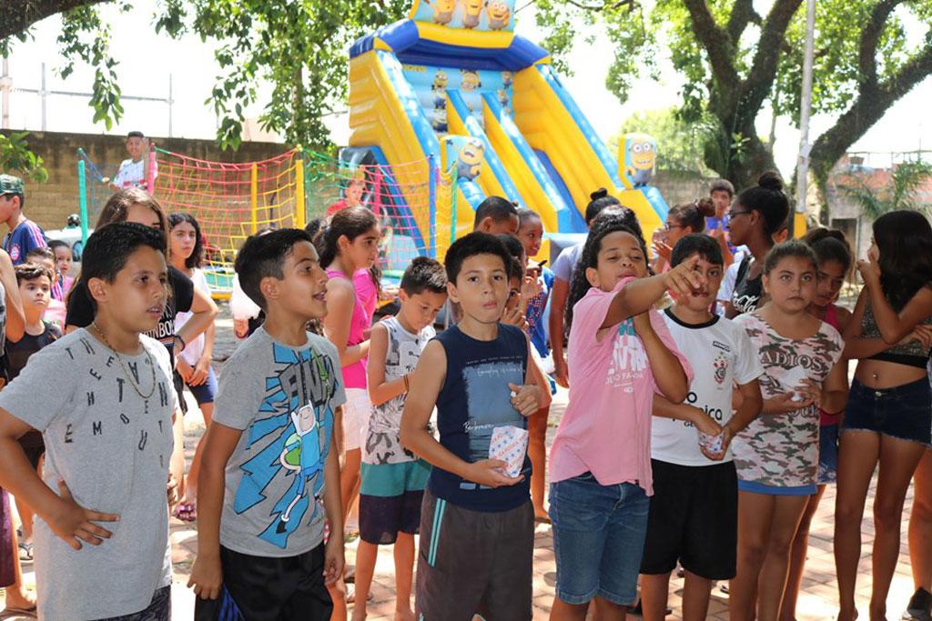 Gincana encerra as atividades do Mês da Criança no CRAS Estação