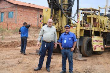 Prefeitura de Rafard firma parceria com Raízen e Radar, e construção de poço artesiano em Itapeva tem início