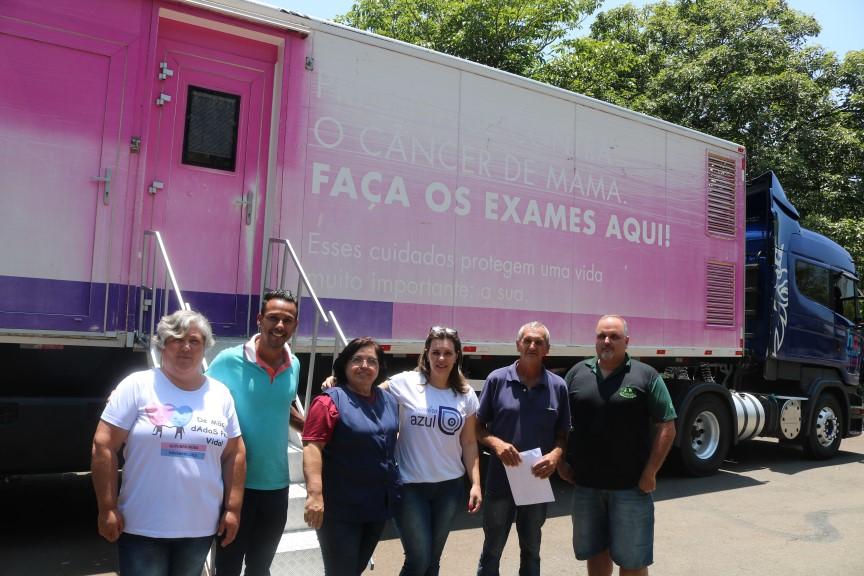 Carreta de Barretos realiza exames gratuitos em Rafard