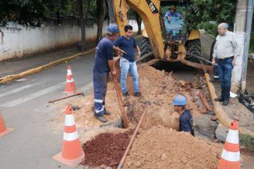Rafard passa por setorização na rede de distribuição de água; serviço vai evitar paralisação coletiva