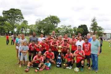 Atlético Rio Pedrense é campeão do regional de futebol em Rafard