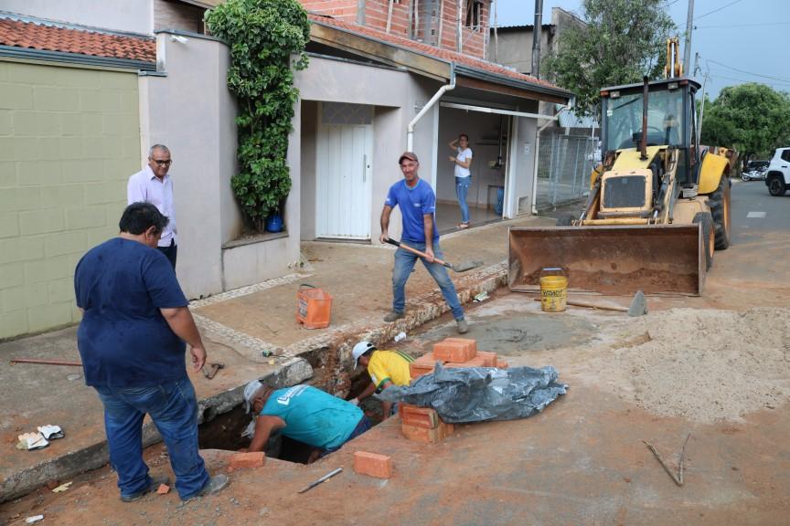 Rafard recebe melhorias no serviço de distribuição de água