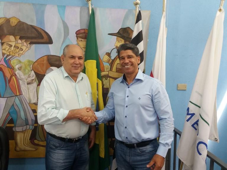 """Em reunião com representante da Açaí Mill & Ross, prefeito Carlão confirma: """"5º Desafio MTB acontece este ano em Rafard"""""""