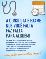 Saúde de Rafard se mobiliza contra alto índice de ausências em consultas médicas