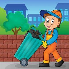 Comunicado horário da coleta de lixo na próxima segunda-feira