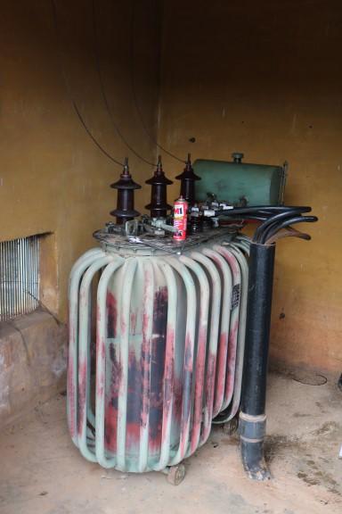 Para melhorar serviço de abastecimento de água, Prefeitura faz manutenção no transformador da Bomba de Recalque