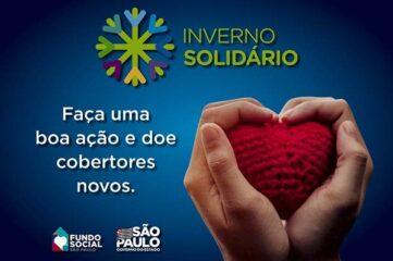 """Fundo Social participa da Campanha Estadual """"Inverno Solidário"""""""