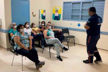 Servidores da Unidade Básica de Saúde recebem treinamento
