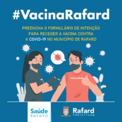 Rafard realiza questionário de intenção para a vacinação contra a COVID-19