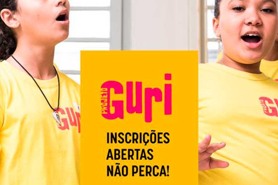 Projeto Guri está com inscrições abertas para aulas online
