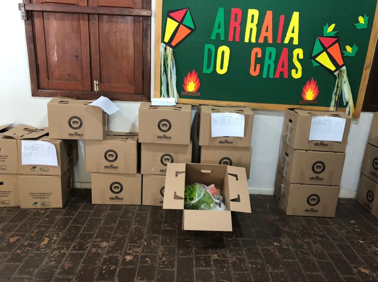 Prefeitura de Rafard entrega 125 cestas verdes
