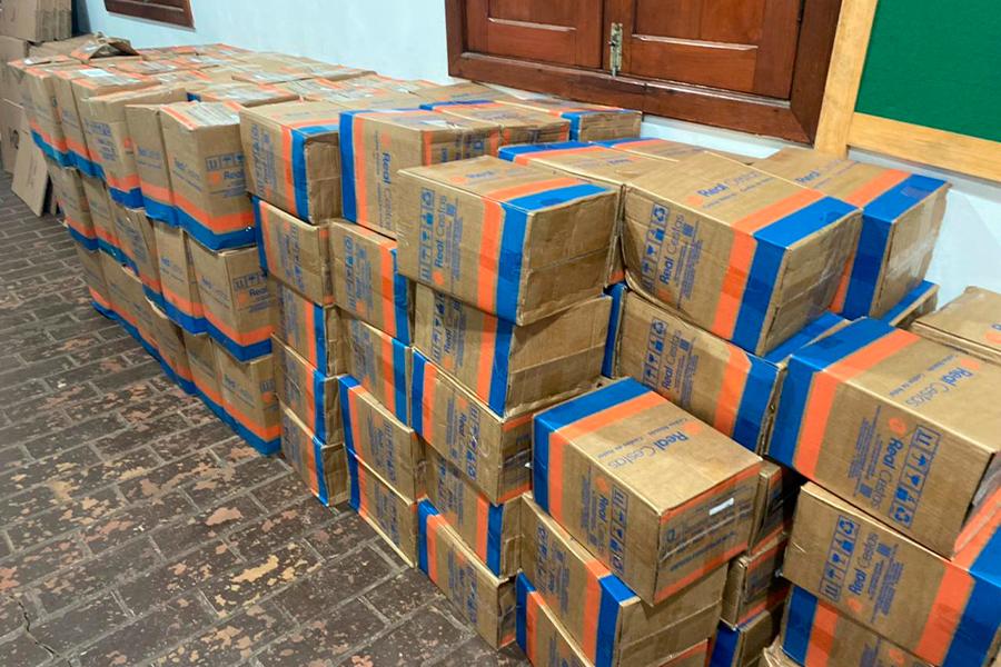 Rodovias do Tietê doa 150 cestas básicas para a Prefeitura de Rafard