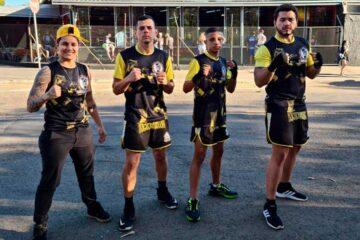Atletas de Rafard participam de torneio de Kickboxing em Piracicaba