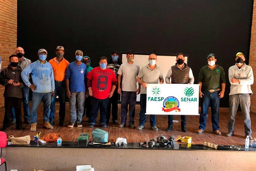 Município empenhado no treinamento de trabalhadores Rurais