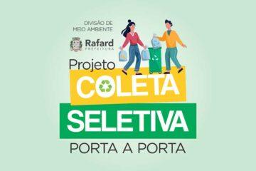 Prefeitura de Rafard divulga programa de Coleta Seletiva