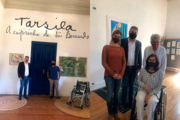 Inauguração Sala Tarsila do Amaral, acessibilidade e Visita da Secretária de Estado dos Direitos da Pessoa com Deficiência Celia Leão