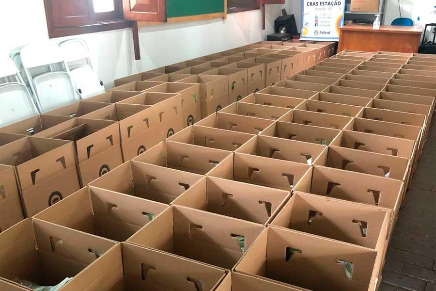 Prefeitura de Rafard recebe mais 125 cestas Verdes