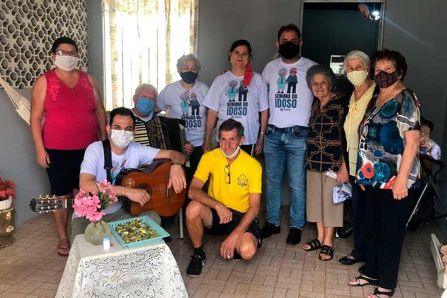 Prefeitura de Rafard realiza a semana do Idoso